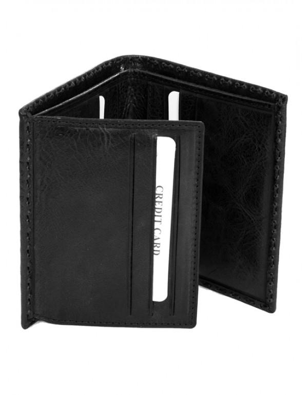 Кожаный бумажникк Cipo & Baxx СА101 BLACK
