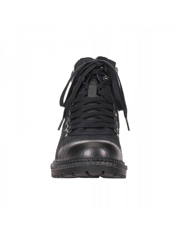 Стильные кожаные ботинки Cipo & Baxx CS116 BLACK