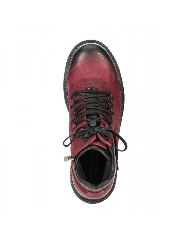 Стильные кожаные ботинки Cipo & Baxx CS116 BORDEAUX