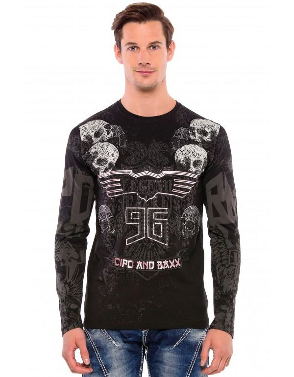 Лонгслив CL386 BLACK