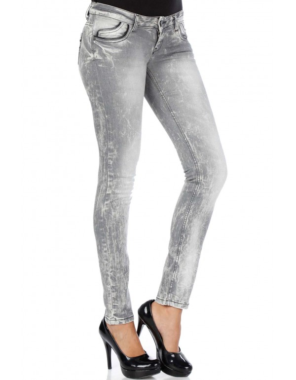 Дизайнерские брендовые джинсы Cipo & Baxx С46006 STANDARD