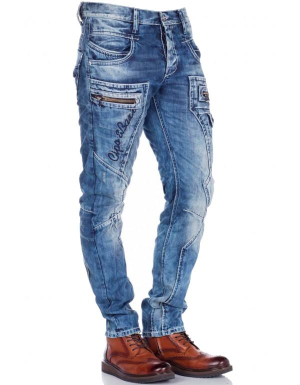 Мужские брендовые джинсы Cipo & Baxx CD178 STANDART в наличии в Москве