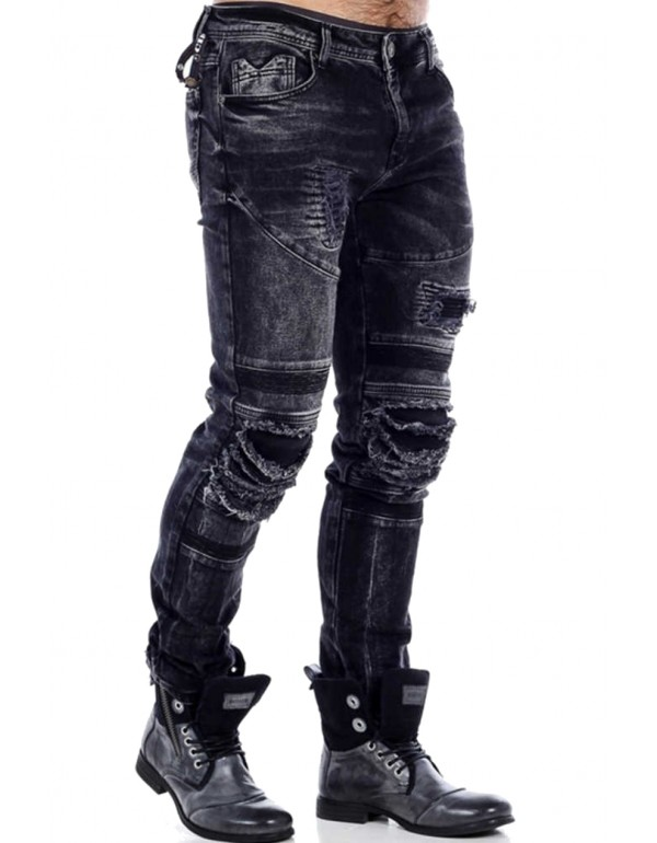 Дизайнерские джинсы Cipo & Baxx CD486A BLACK