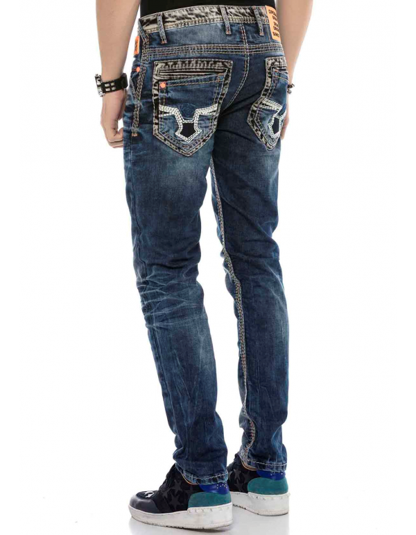 Мужские джинсы Cipo & Baxx CD593 BLUE