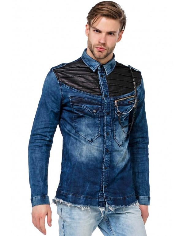Рубашка CH137 BLUE