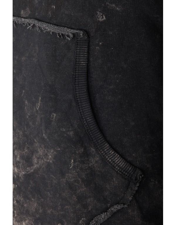 Брутальный дизайнерский свитшот Cipo & Baxx CL279 ANTHRACITE