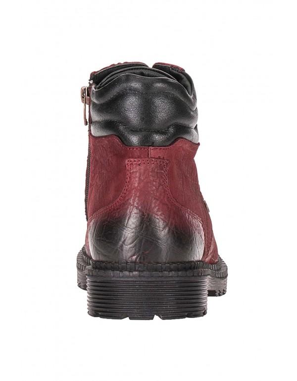 Мужские кожаные ботинки Cipo & Baxx CS116 BORDO в наличии в Москве