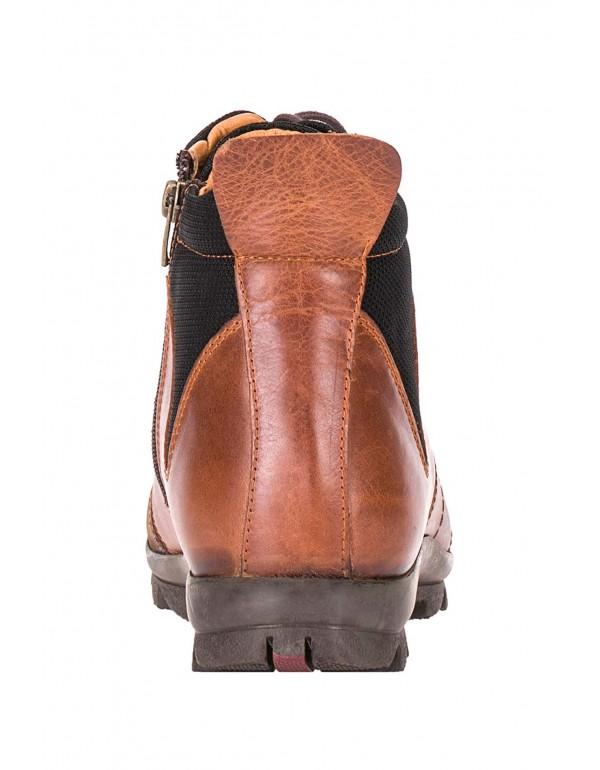 Мужские кожаные ботинки Cipo & Baxx CS118 TABACO в наличии в Москве