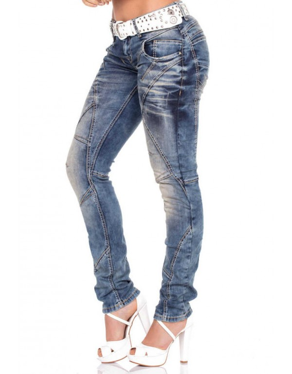 Дизайнерские брендовые джинсы Cipo & Baxx WD175 STANDARD