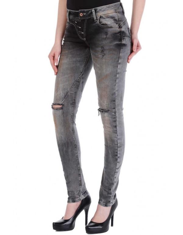 Дизайнерские брендовые джинсы Cipo & Baxx WD205 TAPERED