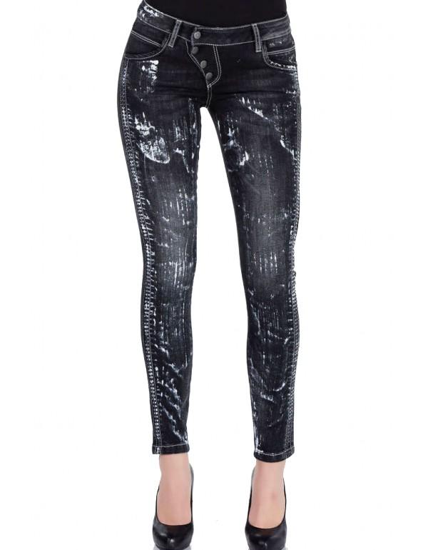 Дизайнерские бренндовые джинсы Cipo & Baxx WD263 BLACK