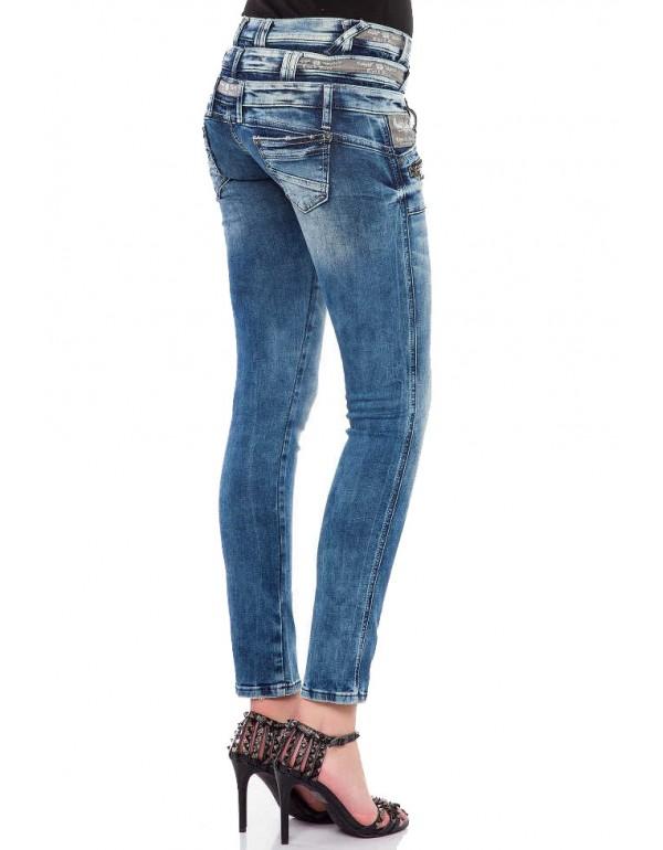 Дизайнерские брендовые джинсы Cipo & Bax WD345 BLUE