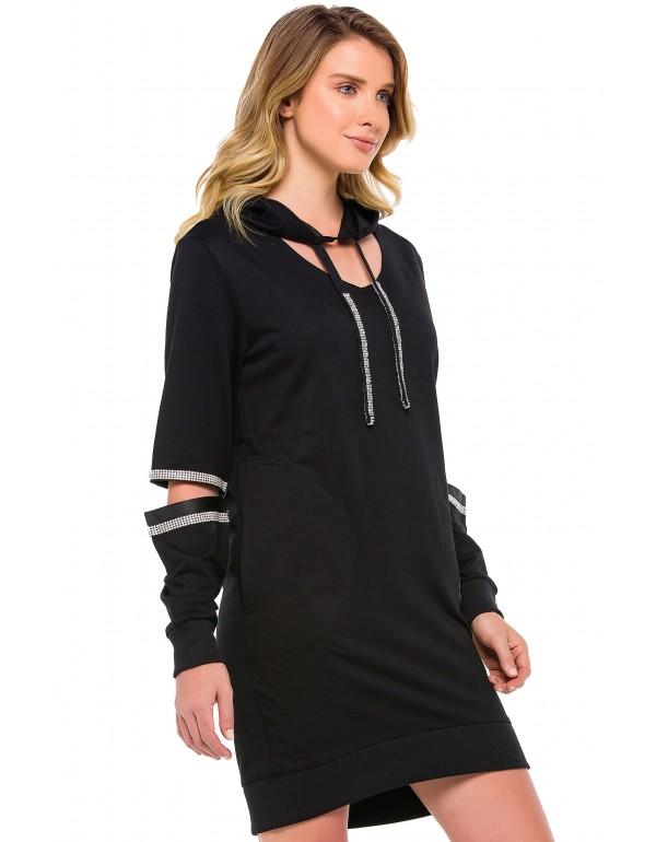 Дизайнерский брендовый кардиган Cipo & Baxx WL201 BLACK