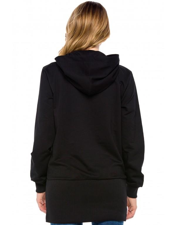 Дизайнерский брендовый кардиган Cipo & Baxx WL203 BLACK