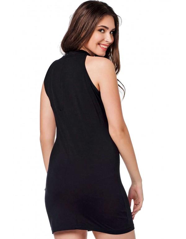 Дизайнерское брендовое платье Cipo & Baxx WY114 BLACK