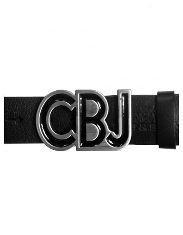 Брутальный дизайнерский кожаный ремень Cipo & Baxx СG161 BLACK